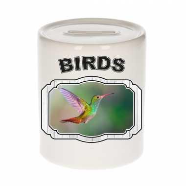 Dieren kolibrie vogel spaarpot birds vogels spaarpotten kinderen 9 cm