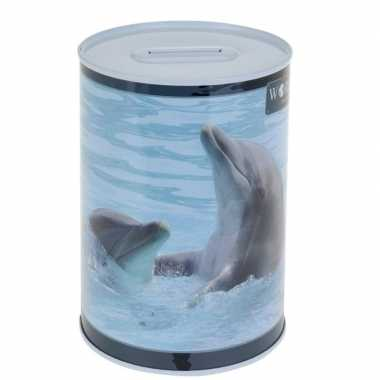 Dolfijn spaarpot 15 cm
