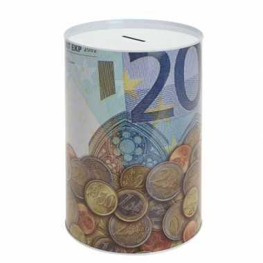 Eurobiljet spaarpot 20 euro briefje