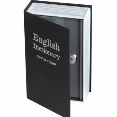 Geheim engels woordenboek metaal 18 x 12 cm
