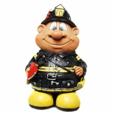 Geld spaarpot brandweerman