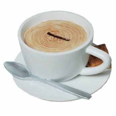 Geld spaarpot kopje koffie