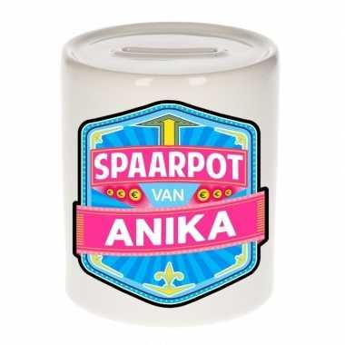 Kinder spaarpot voor anika