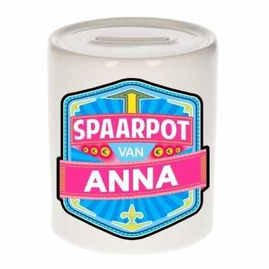 Kinder spaarpot voor anna