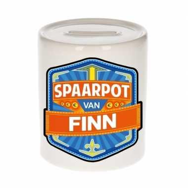 Kinder spaarpot voor finn