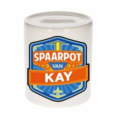 Kinder spaarpot voor kay