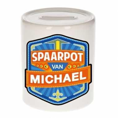 Kinder spaarpot voor michael