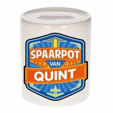 Kinder spaarpot voor quint