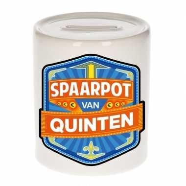 Kinder spaarpot voor quinten