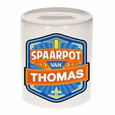 Kinder spaarpot voor thomas
