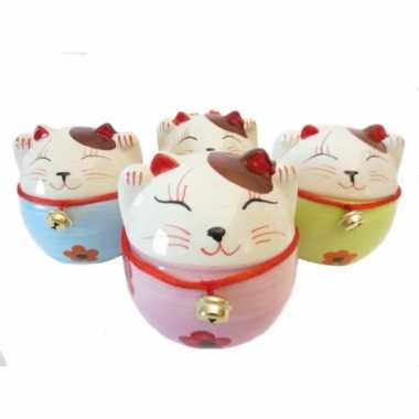 Kinderkado japanse kat spaarpot