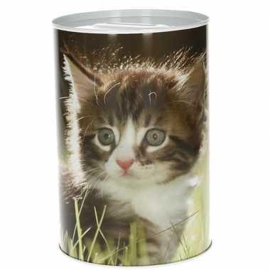 Kittens spaarpot 15 cm type 2
