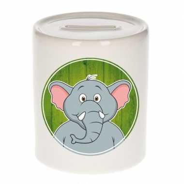 Olifanten spaarpot voor kinderen 9 cm
