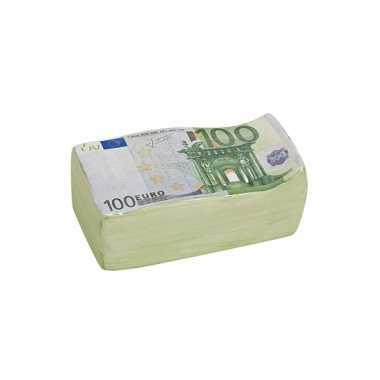 Spaarpot 100 euro biljet 16 cm