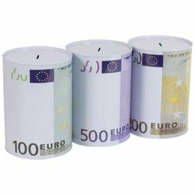Spaarpot 500 euro biljet 22 cm