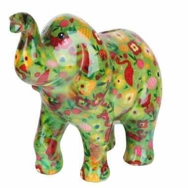 Spaarpot olifant 20 cm type 2