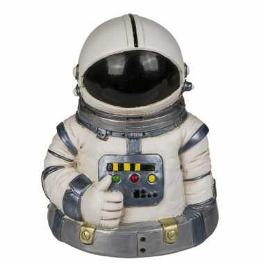 Spaarpot ruimtevaart astronaut 13 x 10 cm