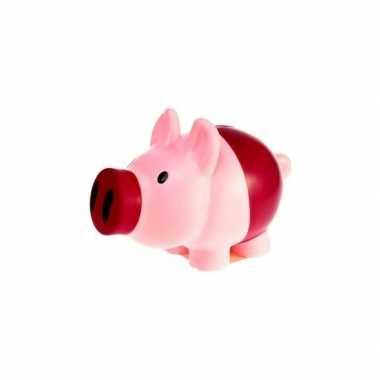Spaarvarken roze/paars