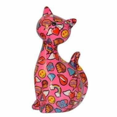 Xl spaarpot kat/poes type 1 30 cm