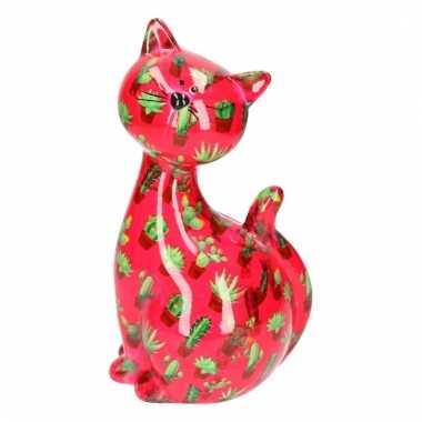Xl spaarpot kat type 6 24 cm