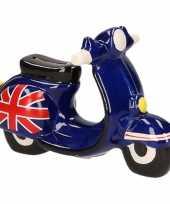 Scooter spaarpot donkerblauw